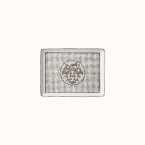 Mosaique au 24 Platinum Tray, Small Model