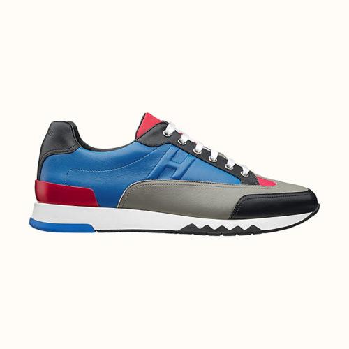 Trail Sneaker in Multicolore Méditerranée (Men's)