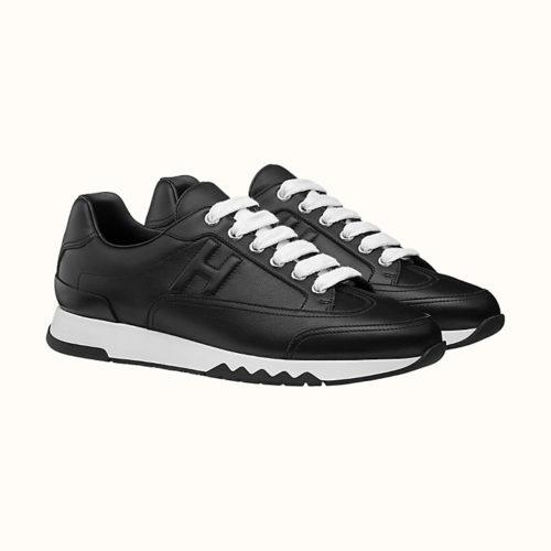 Trail Sneaker in Black