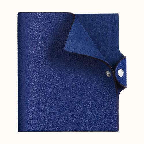 Ulysse PM Notebook Cover in Bleu Electrique