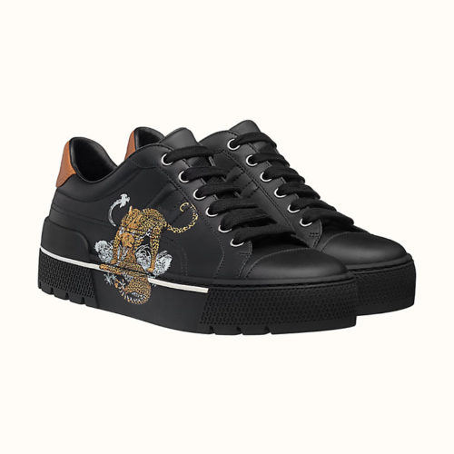 Voltage Sneaker with Jungle Love Print