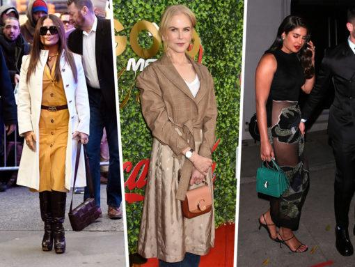 Celebs Flaunt New Styles from Bottega Veneta, Chloé and Fendi