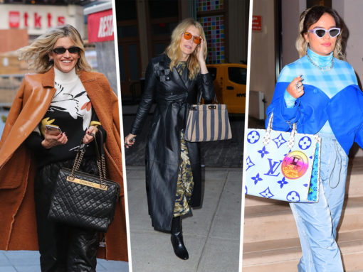 Celebs Continue to Dazzle Us During Awards Season with Fendi and Louis Vuitton