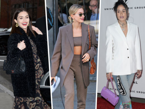 Celebs Opt for Bags from Prada, Chanel and By Far