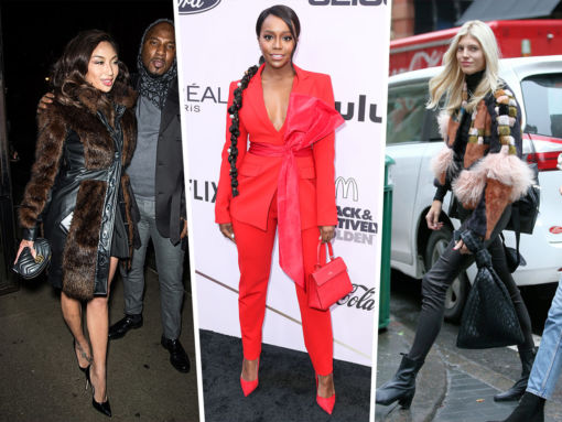 Celebs Get Excited About Gucci, Mateo and Bottega Veneta