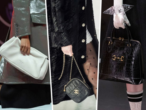 It Was All About Quilting, Top Handles and Oversized Clutches On the Fall 2020 Runways
