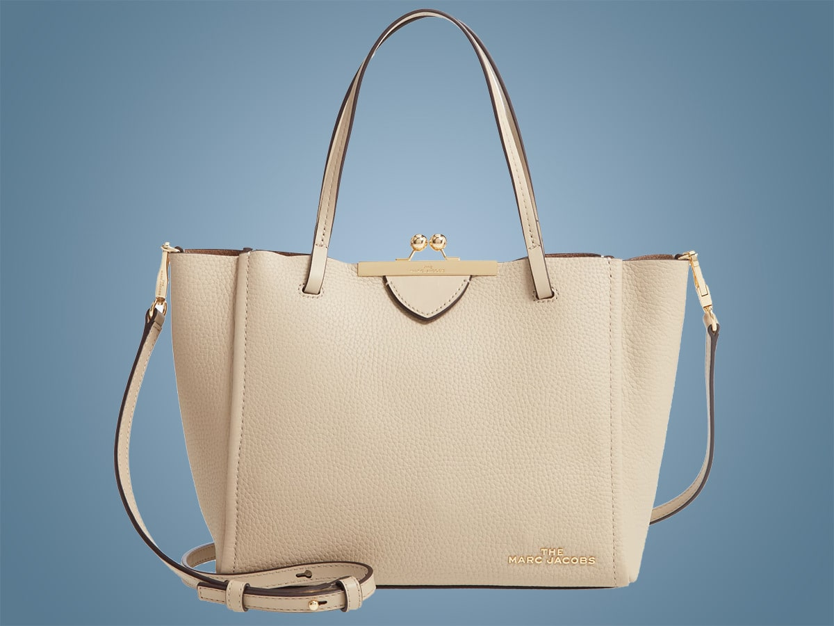Bag of the Week: The Marc Jacobs Kiss Lock Mini Leather Tote ...