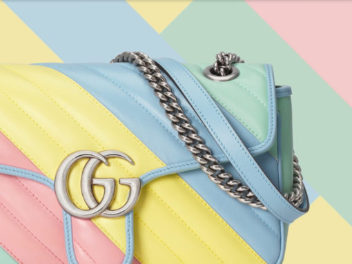 Gucci's GG Marmont Bags Get a Pretty Pastel Makeover
