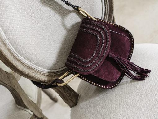 Mini Review: Chloé Small Suede Hudson Bag