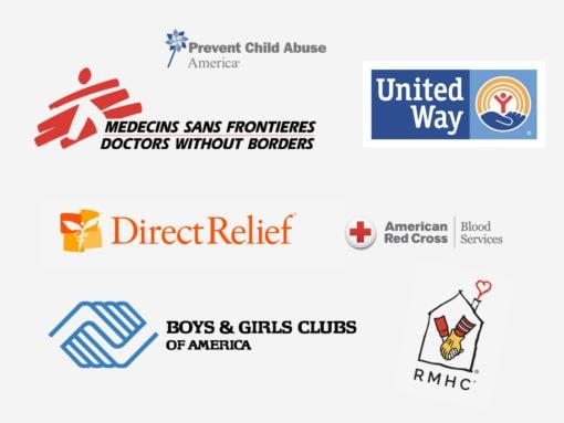 Organizations We're Helping During the Coronavirus Pandemic
