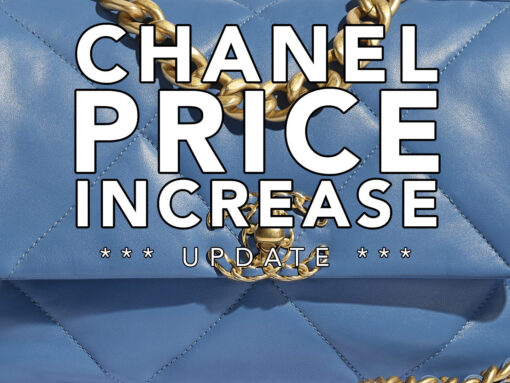 Chanel Price Increase 2020 US Update