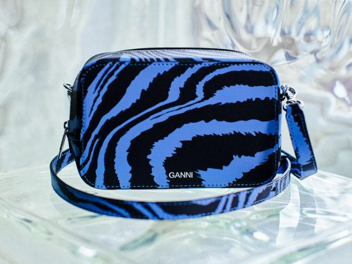 Make a Statement With Ganni's Printed Camera Bag