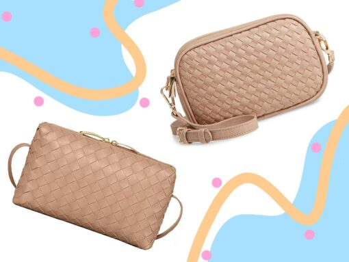 Look for Less: Woven Pouch