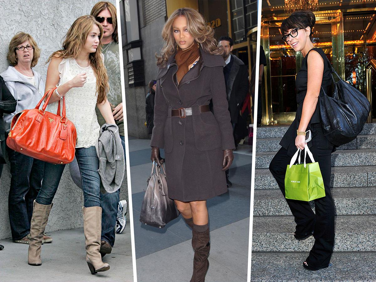 Throwback Thursday Stars And Their Prada Bags Purseblog