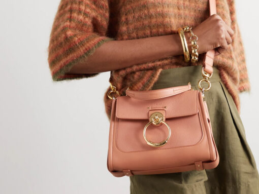 Chloé Reimagines Its Popular Tess Bag Into a Roomier Day Bag