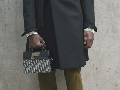 Your First Look at Dior Men's Spring 2021 Bags