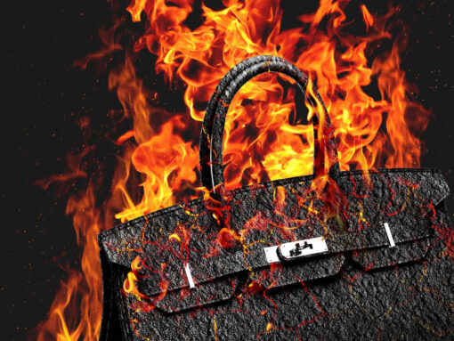 Dear Luxury Retailers: Please Don't Burn Your Excess Bags This Year