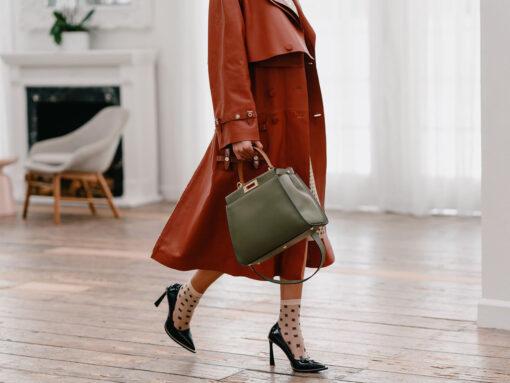 Handbag History: The Fendi Peekaboo