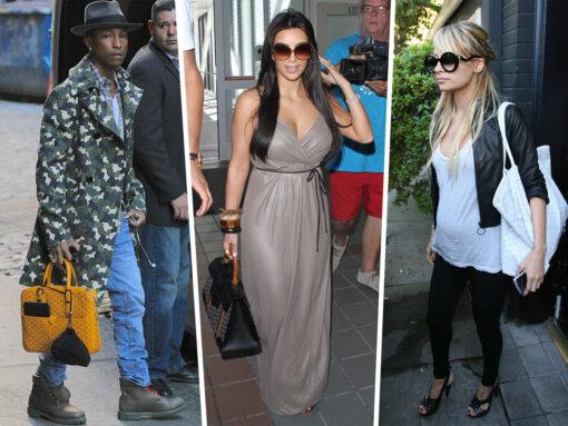 Throwback Thursday: Celebs and Their Goyard Bags