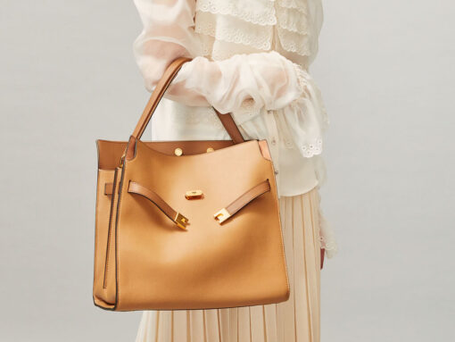 Loving Lately: The Tory Burch Lee Radziwill Double Bag