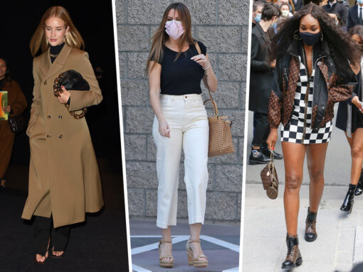 Celebs Start the Month With Favorites From Bottega Veneta, Prada and More