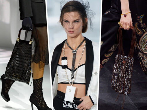 Woven Bags and Tiny Phone Holders Ruled the Spring 2021 Runways