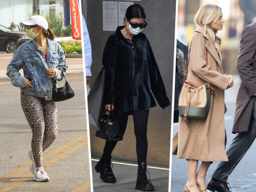 Celebs Accessorize Their Fall Ensembles With Chanel, YSL and Gucci