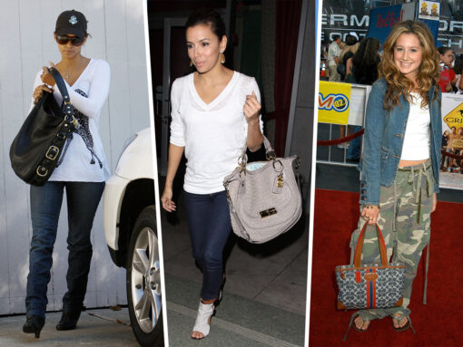 Throwback Thursday: Celebs and Their Coach Bags