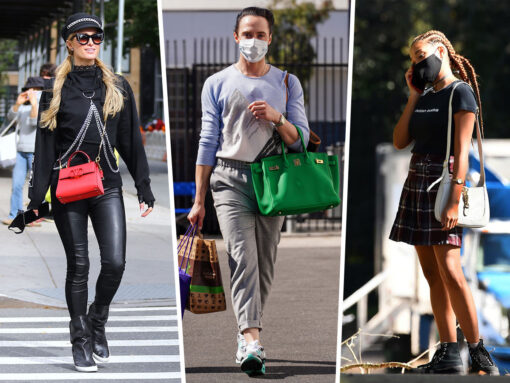 Celebs Carry Covetable Picks from Hermès, Gucci and Valentino All Around Town
