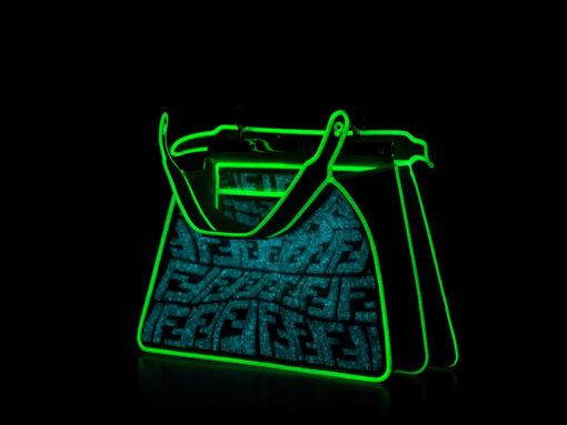 This Fendi Peekaboo Glows in the Dark