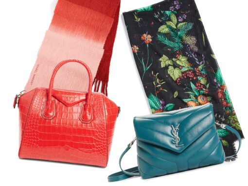 Perfect Pairs: Scarf + Bag Edition