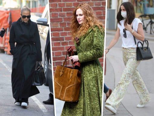 Celebs Seek Hibernation With Hermès and Chanel This Week