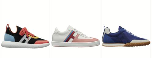 Hermes Spring-Summer 2021 Sneakers. Photo via Tag-Walk.com