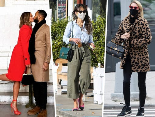 Our Celeb Bag Regulars Show Off Fabulous Picks from Valentino, Celine and More
