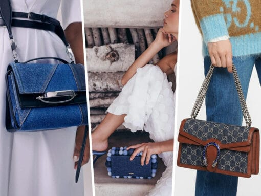 Denim Bags Take Center Stage for Spring 2021