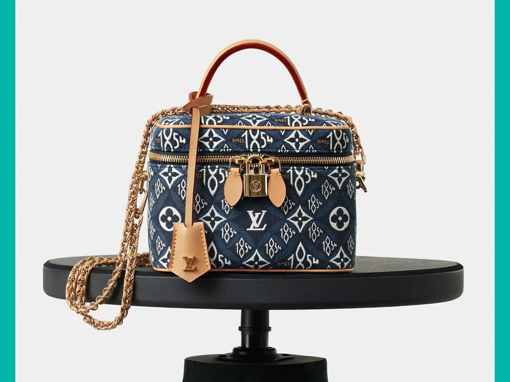 Louis Vuitton Adds Blue Jacquard to Its Since 1854 Collection ...