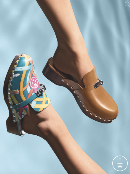 The Carlotta Mule will come in a variety of colors and prints. Photo via Tag-Walk.com