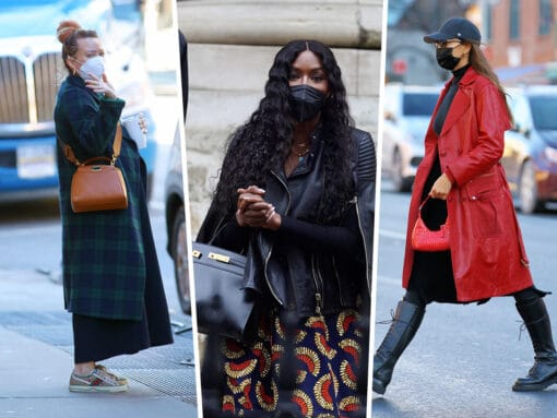 Celebrities Are Spotted Out and About With Fendi, By Far and Gucci