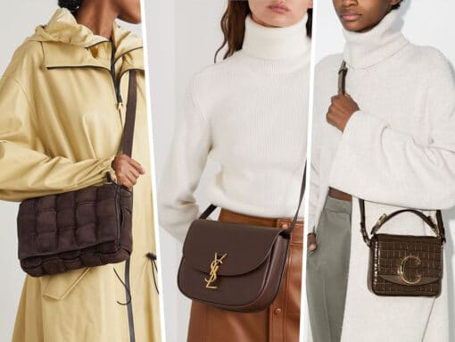 You're Going to Want to Add One of These Mocha Colored Bags to Your Closet