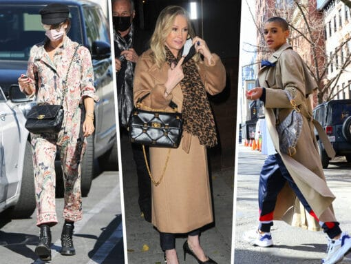 Celebs Show Off the Latest Bags from Givenchy, Valentino, Versace and More