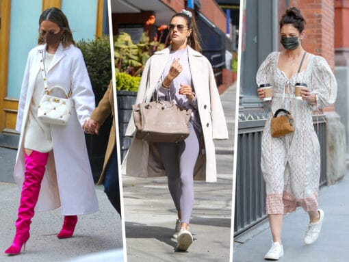 Celebs Enjoy the First Signs of Spring With Picks from Chloé, Valentino and More