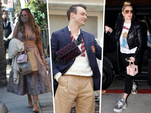 Celebs Head Out With Birkins, Belt Bags and More