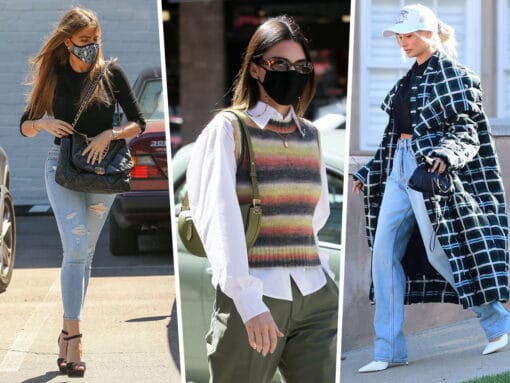 Celebs Accessorize Their Best Street Style Looks With Burberry, Bottega Veneta and More