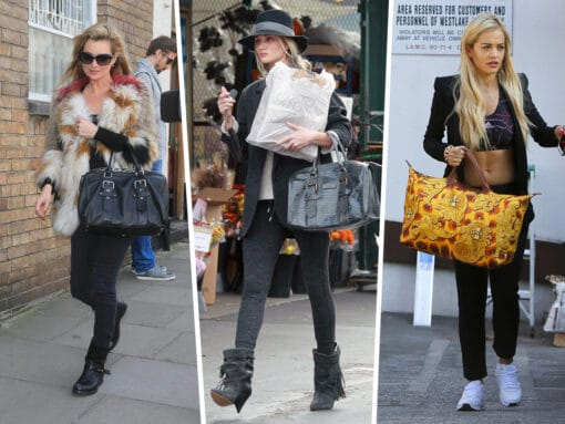 Throwback Thursday: Celebs and Their Longchamp Bags