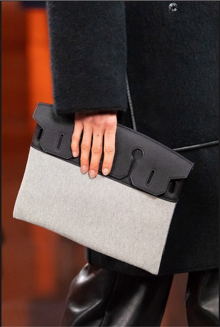 "The ""Birkin Pochette"" insert serves as a standalone Pochette. Photo courtesy of Vogue.com."