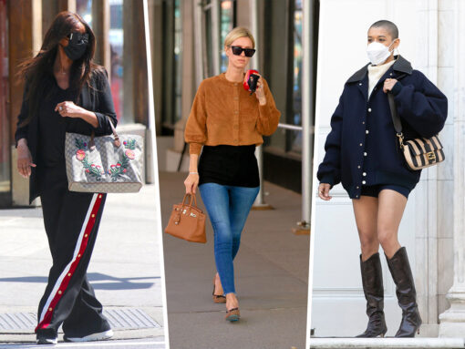 Celebs Work and Play With Bags From Gucci, Bottega Veneta and More