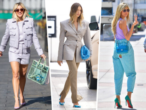 Celebs Show Off Colorful Carryalls From Chanel, Bottega Veneta and More