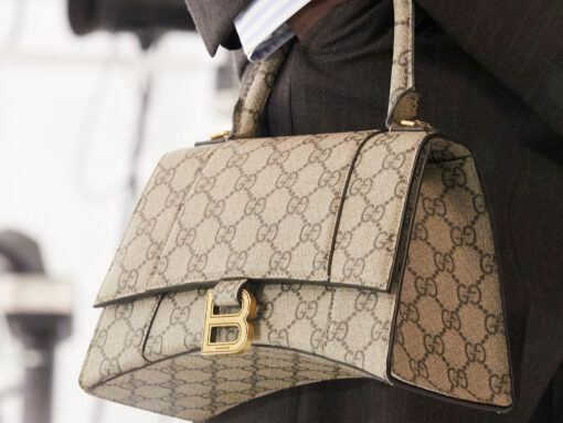 "What Does Gucci ""Hacking"" Balenciaga Mean for the Future of Fashion?"