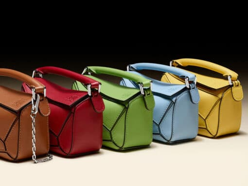 Loewe Shrinks Down Its Classic Puzzle Bag for Spring
