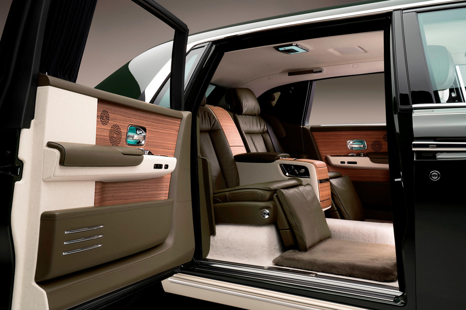 The Hermès Phantom Oribe interior. Photo via Rolls Royce.